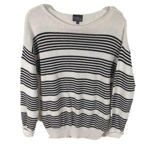 Market & Spruce Stitch Fix striped cotton sweater